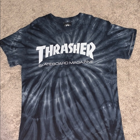Thrasher Tie Dye T Shirt